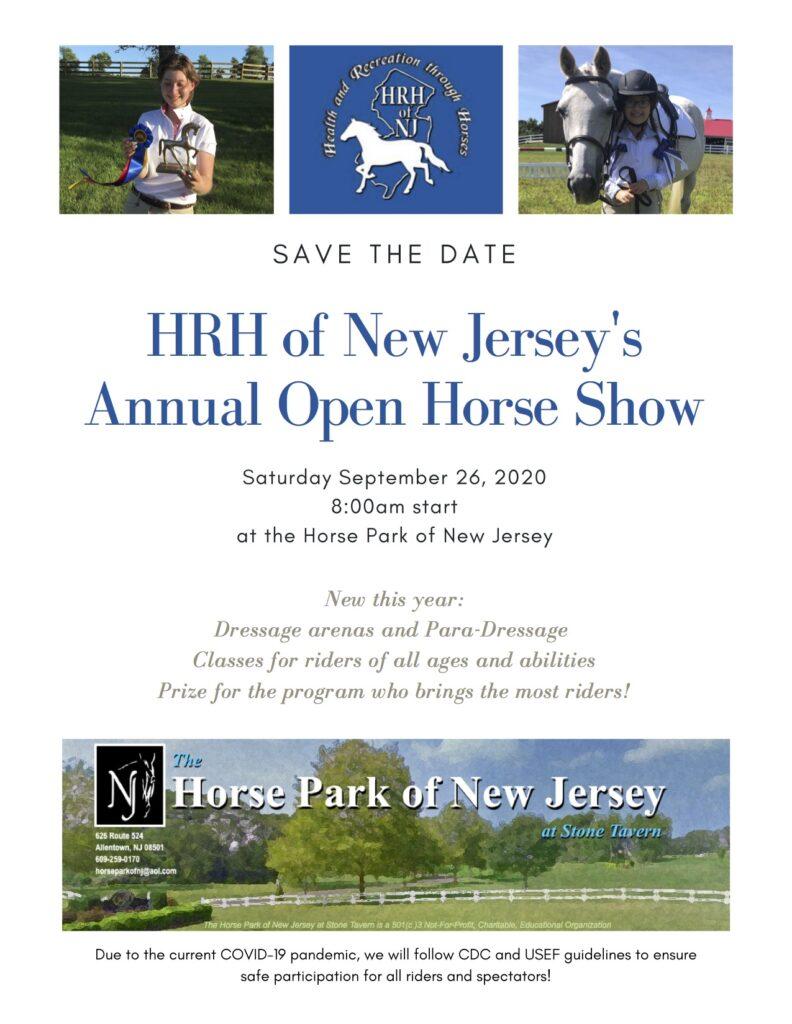 HRH of NJ Horse Show